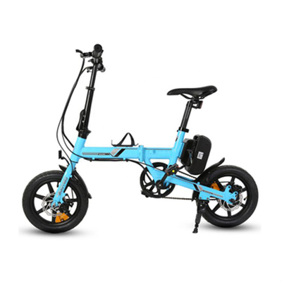 SWALLOW14 Mini Electric Folding Bike with Youth Story